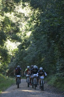 The GR 300 race takes cyclists through some of the most breath-taking scenery in the Garden Route. Photo: Julie Ann Photography