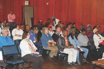 Service Providers from the Eden region were officially welcomed by Eden's Executive Mayor, Cllr Wessie Van der Westhuizen, to the event.