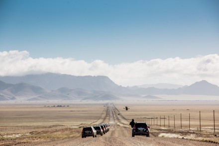 The open roads.  Photo: Cooked in Africa Films.  Louis Hiemstra