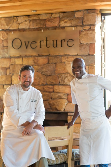 UBM Judges, Bertus Basson and  Petrus Madutlela.  Photo: Cooked in Africa Films.  Louis Hiemstra