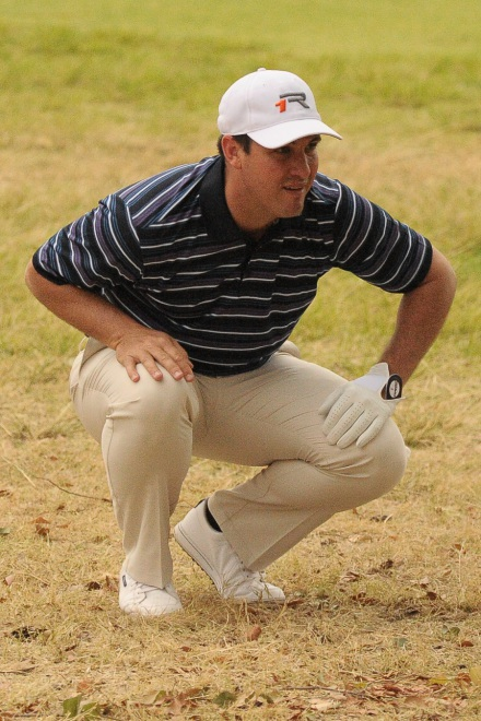 Gerlou Roux claimed the crucial point for Western Province to get the defending champions underway at the 2014 South African Mid-Amateur Championship at Middelburg Country Club; credit Action Pix Event Photography.