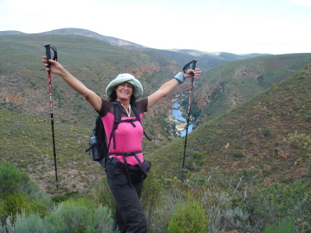 Brenda Gilbert will be walking 400 kilometres in 18 days on the Eden to Addo hike in the Eastern Cape to raise money for the Eden to Addo Corridor Initiative and Pam Golding Properties' Heart of Gold Trust.