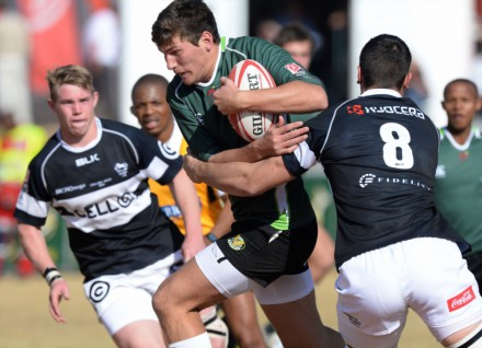 JT Jackson of SWD is one of the SA Schools stars on show at the SARU U18 Sevens Touranment. Pic: Duif du Toit/Gallo Images