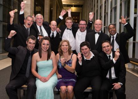 The KWV winning team