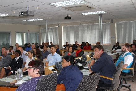 Stakeholders from the Department of Health, Mossel Bay Port, SAPD, Oudtshoorn Disaster Management and Eden District Municipal Health Section attended the workshop.