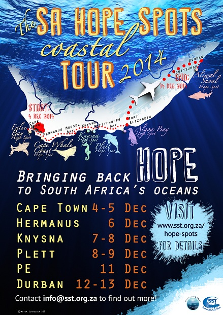 Coastal tour poster small