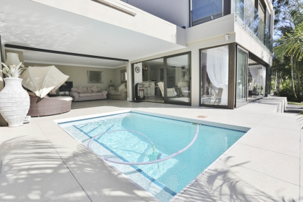 This six-bedroom home on Nahoon River in East London was sold for Pam Golding Properties for R8.45 million, which is one of the highest house prices achieved in East London.
