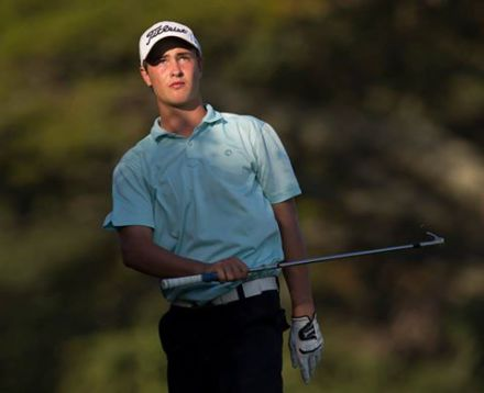 Noel Anderson helped Western Province to a 7.5 - 4.5 victory against Ekurhuleni in the third round of SA Under-19 Inter-Provincial at Krugersdorp Golf Club; credit Rogan Ward.