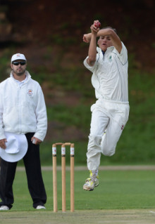 Chad Classen claimed 11 wickets at the U17 Week.  Pic: Duif du Toit/Gallo Images