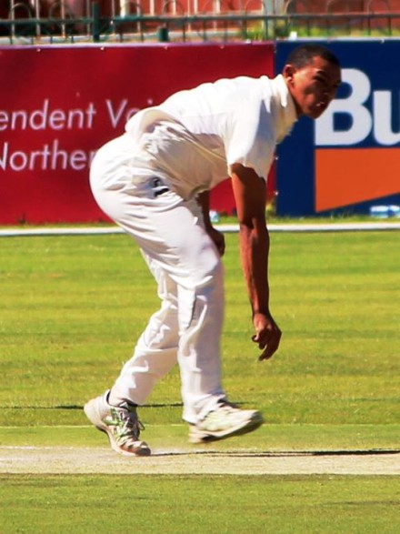 Gurshwin Rabie and opening partner Lonwabo Rodolo destroyed the North West batting line-up with combined figures of 7-29