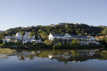 Overlooking Knysna Lagoon, the joint guesthouses of Beauchamp and Art Deco include a restaurant that can be opened to the public as well as a three bedroom owner/manager's house, marketed at a total price of R16.5 million through Pam Golding Properties.