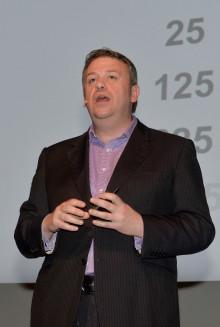 Robert Flemming, Qlik VP of International Marketing.