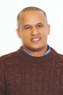 Eden's, Spatial Information Supervisor, Mr Salman Damons, after been informed by the South African Council for Professional and Technical Surveyors that he successfully passed the PLATO examination, which he wrote on 10 November 2014.