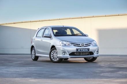 Toyota's Etios Sport. Picture: QuickPic