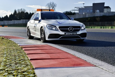 The C 63 S Mercedes Estate; the official medical car. Picture: QuickPic