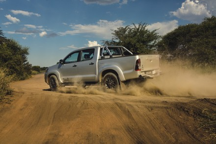 Rally proven: the Dakar Hilux. Picture: QuickPic