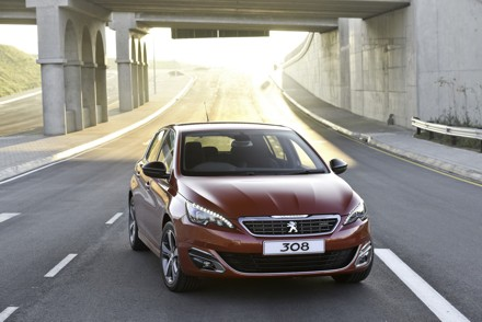 The all-new Peugeot 308: winner of the 2014 European Car of the Year. Picture: QuickPic