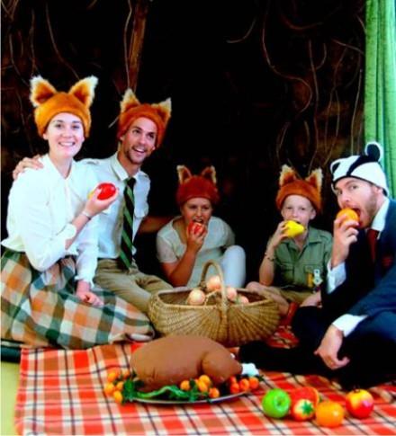 Fantastic Mr. Fox at the Kids Theatre Festival at Hope @ Paul Cluver.  Image courtesy of David Morris