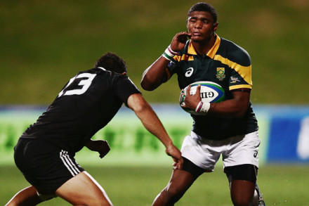 SA U20 fullback Warrick Gelant in action at the 2014 JWC.  Pic: Hannah Peters (Gallo)
