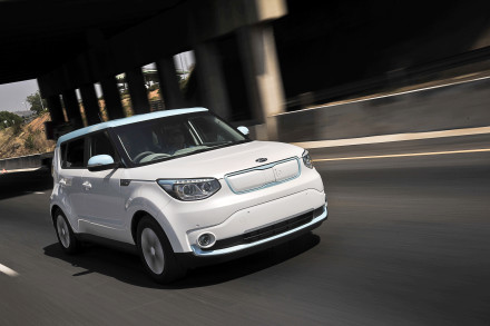 The Kia Soul EV: sees off Toyota Camry, Honda Fit and Subaru Legacy. Picture: QuickPic