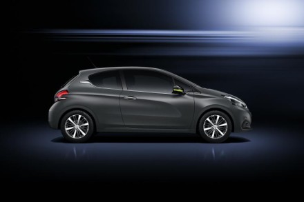 The new Peugeot 208: decked out in its Ice Grey livery. Picture: Motorpress