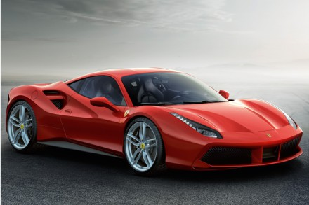 The 488 GTB opens a new chapter in the history of cars. Picture: QuickPic