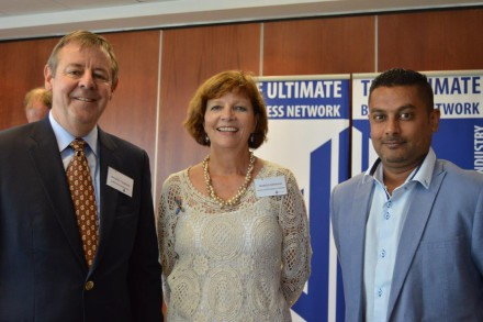Richard Cookson, Frances Chisholm and Sanjay Harryparshad
