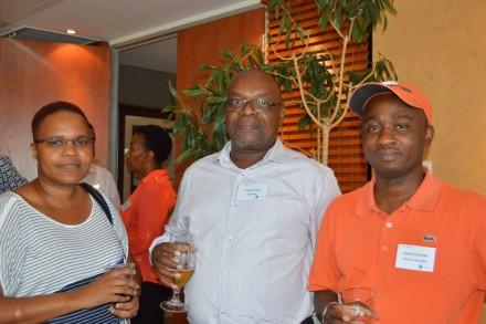 Tumi Maje, Stanley Zulu and Kenny Mathebe