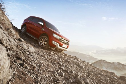 The new Ford Everest has excellent off-road capabilities. Picture: QuickPic