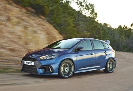 Ford Focus RS: Fitted with fuel efficient EcoBoost technology. Picture: QuickPic