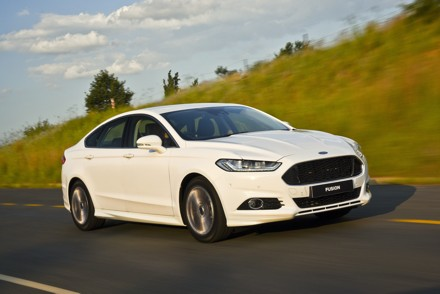 The Ford Fusion: full of surprises. Picture: QuickPic