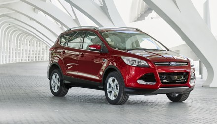 The Ford Kuga 2 litre TDCi Titanium AWD with Powershift is fun to drive. Picture: QuickPic