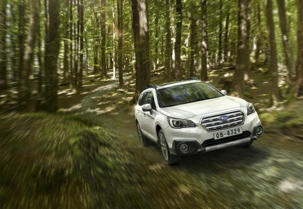 The new Subaru Outback: sleeker styling and a higher level of comfort. Picture: QuickPic