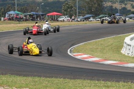 Dewald Brummer: racing ahead in his single-seater: Picture: QuickPic
