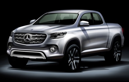 The one-ton bakkie from Daimler Nissan. Picture: QuickPic