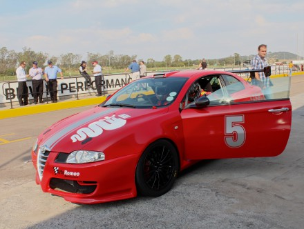 The race ready Alfa GT. Picture: QuickPic.