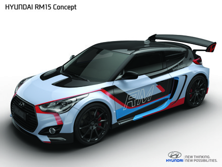 Concept Coupe from Hyundai has plenty of muscle. Picture: QuickPic
