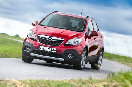 Opel's Mokka: on the right track. Picture: QuickPic
