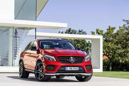 The new Mercedes Benz GLE Coupé: made in America. Picture: QuickPic