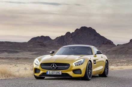 The Mercedes AMG-GT: Best of the best winner. Picture: QuickPic