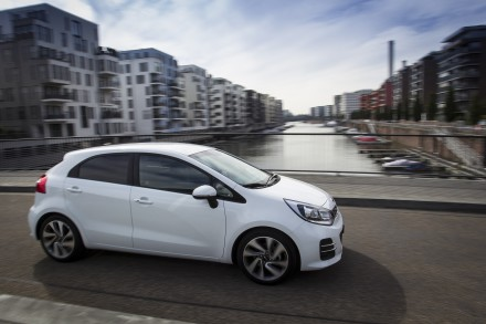 The new-look Kia Rio:  changes are all cosmetic, but under the skin it's just as good. Picture: QuickPic
