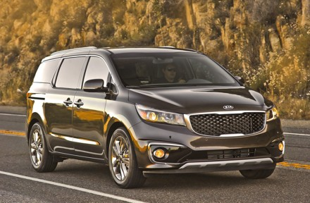 The Kia Sedona will be launched in South Africa later this year. Picture: QuickPic