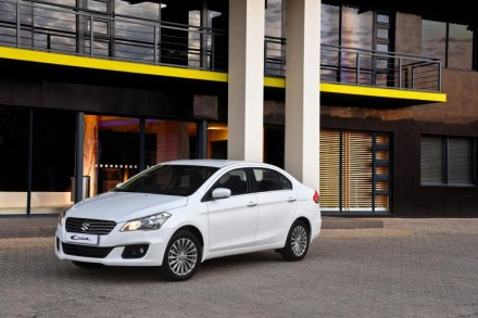 Suzuki's new Ciaz: competing in the compact sedan market. Picture: Motorpress