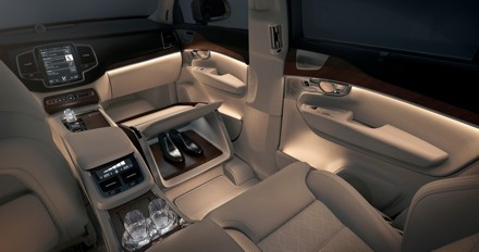 """Volvo's Lounge Console is  """"the ultimate executive accessory"""". Picture: QuickPic"""