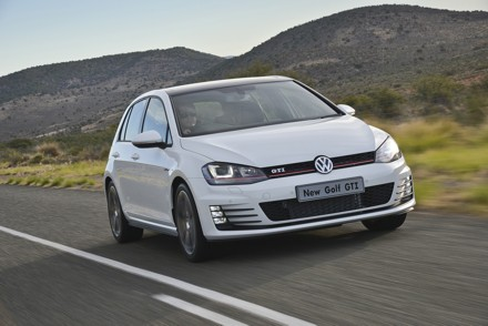 The Golf GTi gets more power with a  performance pack option. Picture: QuickPic
