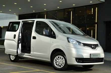 The Nissan NV200 Combi: miserly with fuel. Picture: QuickPic