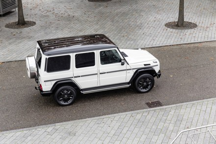 Mercedes Benz G-Class: pioneering 4x4 is the clear winner.  Picture: QuickPic