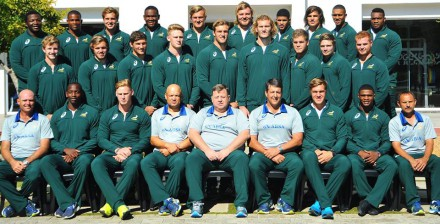 The Baby Bok touring squad.  Pic: SARU