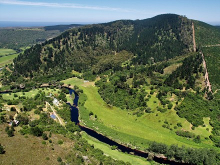 Pam Golding Properties in Sedgefield sold this 50ha lifestyle farm with 1km river frontage on the Goukamma River for R7.8 million