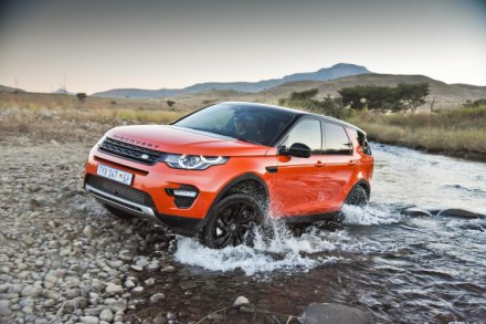 Land Rover's new Discovery Sport: a compact premium SUV. Picture: Motorpress